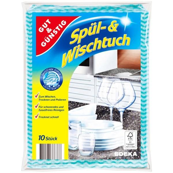 Серветки універсальні G&G Spül - und Wischtuch 10 шт