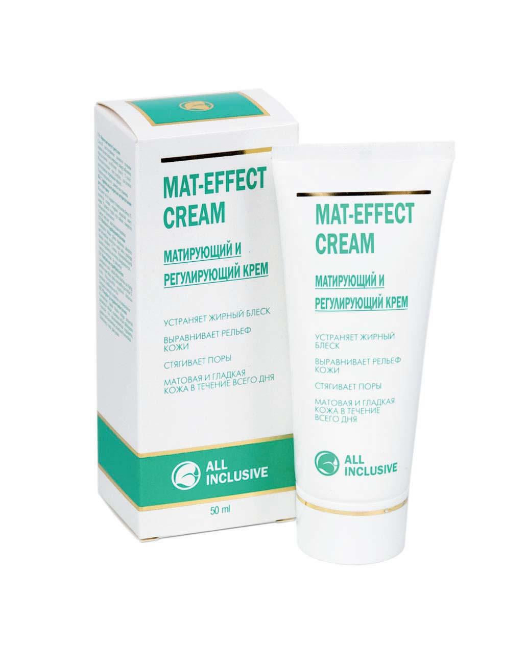 Mat-effect cream Матирующий и регенирирующий крем
