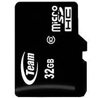 Карты памяти Team MicroSDHC 32GB Class 10 card only для мобильных устройств планшетов высокая скорость