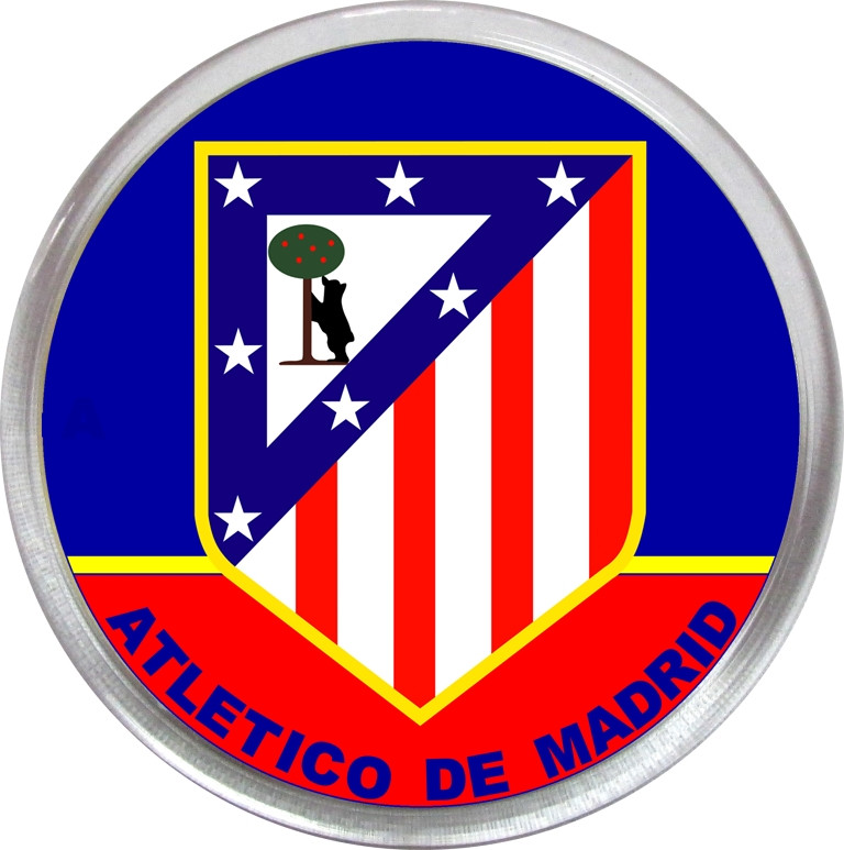 Значок (магнит) ФК Алиетико Мадрид