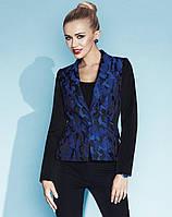 Стильный женский жакет синего цвета в стиле милитари Gabriela Zaps.