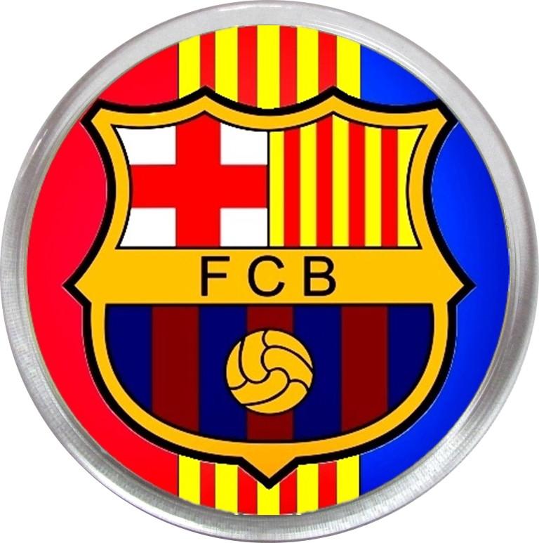 Значок (магнит) ФК Барселона