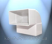 Колено вертикальное D\KPІ 110*55 Dospel