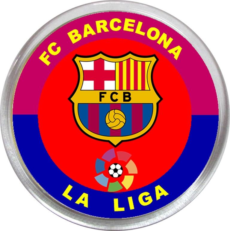 Значок (магнит) ФК Барселона Ла Лига