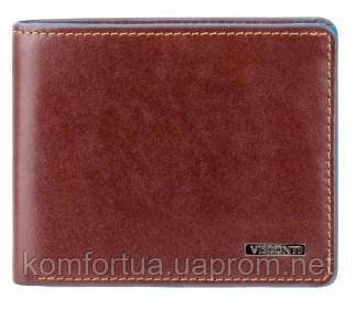 Мужской кошелек Visconti ALP85 Ozwald (Brown) с защитой RFID