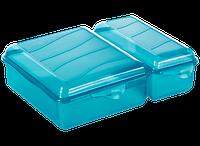 Емкость для завтрака Мультиснап двойная TWIN (1,05л; 0.55л)