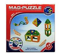 Конструктор магнитный (14 деталей) Magnetic ZB16A