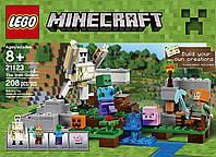 Конструктор Лего Майнкрафт Железный Голем ( LEGO Minecraft The Iron Golem 21123)