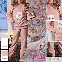 Пижама детская флисовая. Одежда для сна и дома для девочки Cotonella™