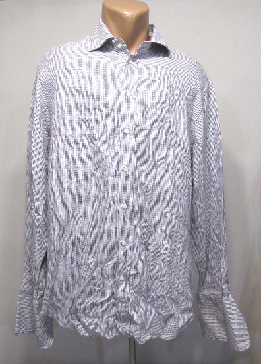 Рубашка ARMANI COLLEZIONI, 42, на запонки, cotton, Оригинальная, Как Н