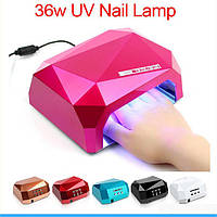 Лампа  SUN UV LED 36W  многогранник (Diamond)