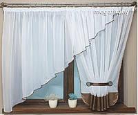Купить тюль готовая на кухню, в детскую, спальню Klara