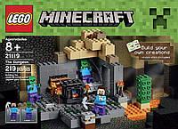 Конструктор Лего Майнкрафт 21119 Темница (LEGO Minecraft The Dungeon 21119)