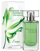 Yves Rocher Moment De Bonheur L'eau 50 ML  туалетная вода женская (ОРИГИНАЛ ПОДЛИННИК)