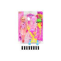 Кукла с коляской и аксессуарами (Лял5687)