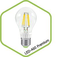 Filament LED лампа BIOM 6W E27 A60 (классика) 3000К