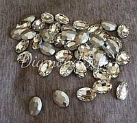 Декоративные стеклянные камни , Овал , Маркизы без цап 30*21