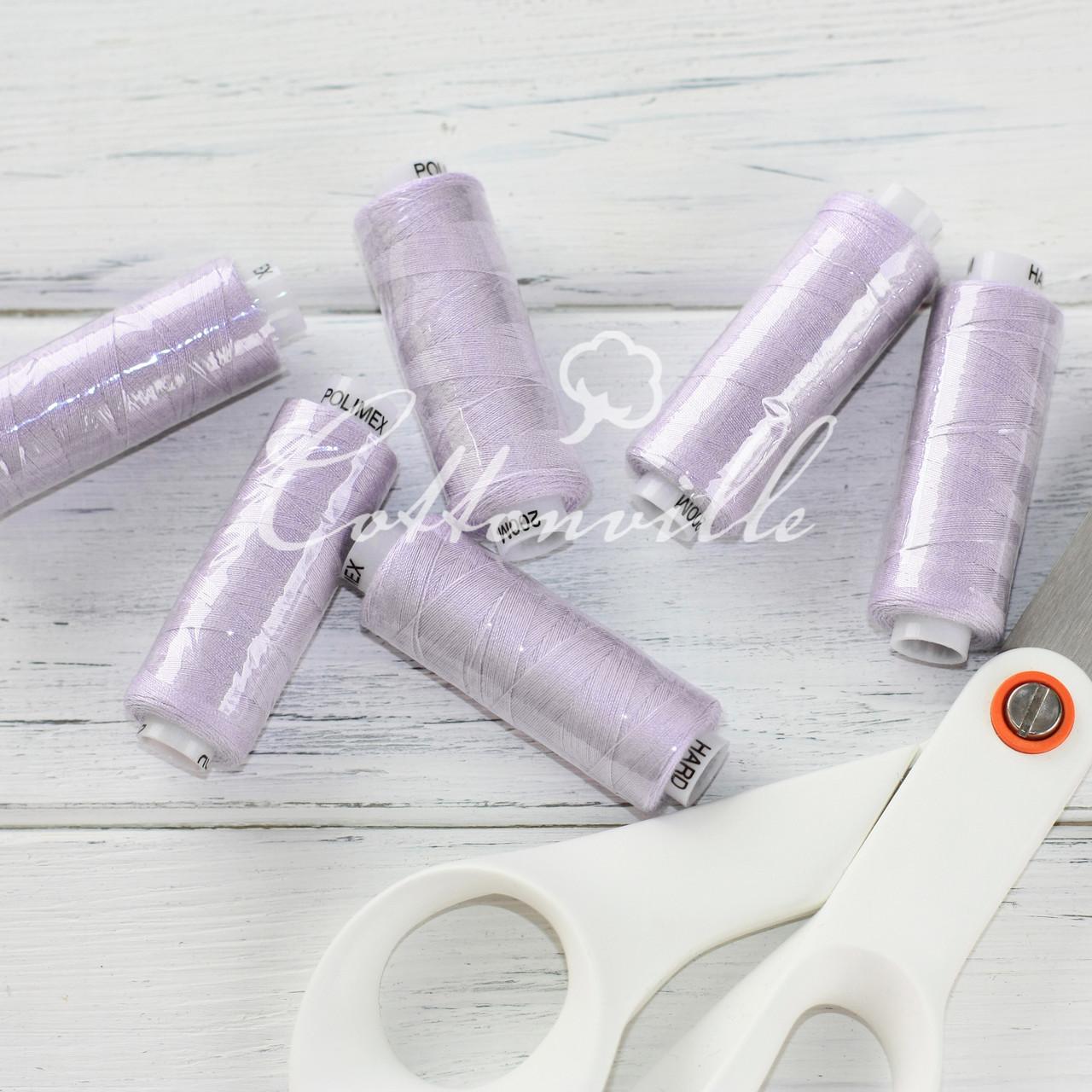 Нитки швейные 40s/2 (200 м) цвет сиреневый светлый