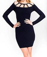 Стильное облегающее платье для праздника