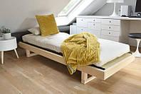 Кровать mirage,кровать из дерева,односпальная кровать,кровать полуторка,кровать односпальная.