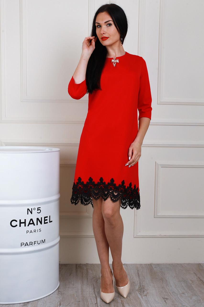 ea26b63d8c0 Нарядное красное платье больших размеров - оптово - розничный интернет -  магазин