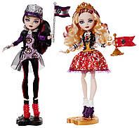 Набор 2-х кукол Эппл Вайт и Рэйвен Квин из серии Школьный дух Эвер Афтер Хай, Apple White and Raven Queen