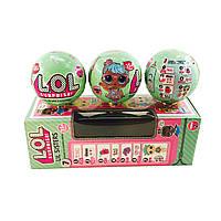 Комплект из 3х кукол LOL 2-я серия 7 аксессуаров ORIGINAL