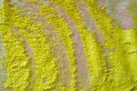 Паеточная ткань желтая