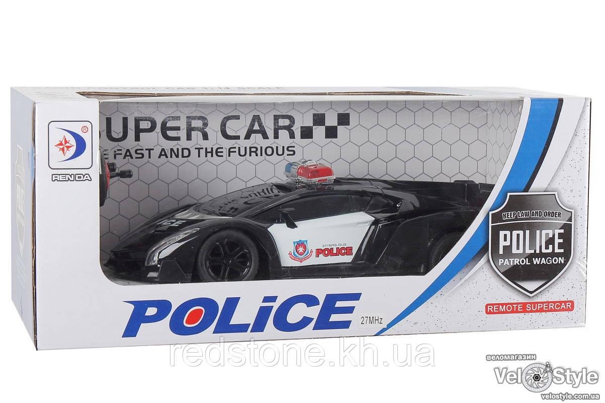 Машинка Полицейская RD808A-1 на радиоуправлении