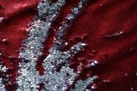 Паеточная ткань коричневое серебро