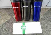 Кружка термос чашка Starbucks-STN-3 (Е) (черный, синий, красный) Старбакс