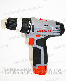 Аккумуляторный шуруповерт ARSENAL ДА - 12 Л