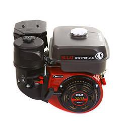 Двигатель бензиновый BULAT BW170F2-S NEW (7,0 л.с., бак 5,0 л, вал шпонка 20 мм,oil bath filter)