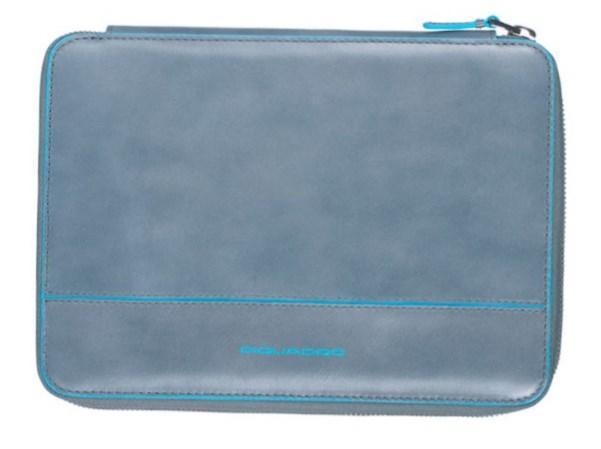 Чехол для iPad mini Piquadro Blue Square из кожи AC3060B2_GR2