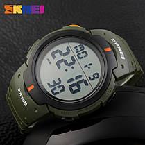 Часы водонепроницаемые спортивные Skmei Army Green BOX 1068GB, фото 2