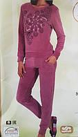 Турецкая Велюровая пижама Nicoletta 87053