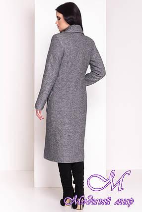 Длинное женское зимнее пальто (р. S, М, L) арт. Габриэлла 4363 - 21011, фото 2