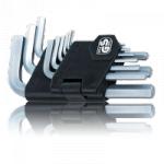Набор шестигранных ключей (6 граней, 1,5-10 мм), 9 шт. Ampro T22933