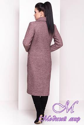 Длинное классическое женское зимнее пальто (р. S, М, L) арт. Габриэлла 4363 - 21006, фото 2