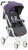 Коляска прогулочная Quatro Mio №15 purple (графит - фиолетовый)