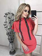 Платье женское на молнии спереди Змейка