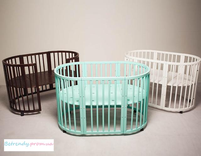 Детские кроватки трансформеры 7в1