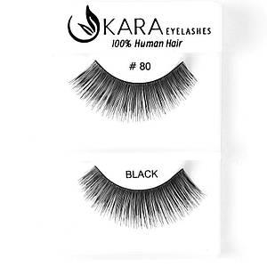 Накладные ресницы Kara™ False Strip Eyelashes  #80