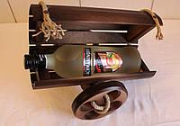 Сувенірна гармата для зберігання пляшок