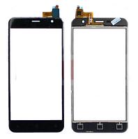 Оригинальный тачскрин / сенсор (сенсорное стекло) Prestigio MultiPhone Muze B3 3512 | Muze B7 7511 Duo черный