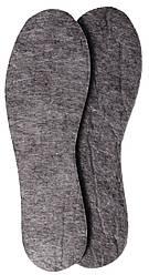 Стелька для обуви войлочные оптом «Фетровая», р–р 36