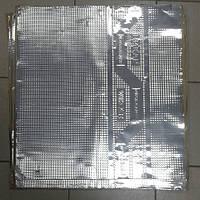 Безшумка шумоизоляция вибропоглощающая FA 630 на 600 на 1.5мм битил-каучук с фольгой