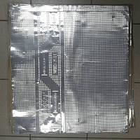 Безшумка шумоизоляция вибропоглощающая FA 630 на 600 на 2.3мм битил-каучук с фольгой