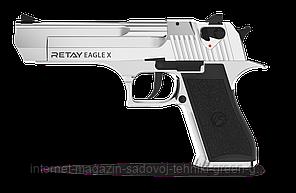 Пистолет стартовый (сигнальный) Retay Eagle-X (nickel)