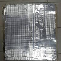 Безшумка шумоизоляция вибропоглощающая FA 630 на 600 на 3.5мм битил-каучук с фольгой